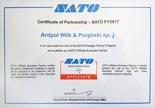 Certyfikat Sato
